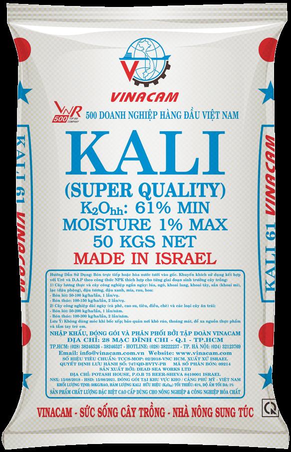 Phân bón Kali Trắng Israel