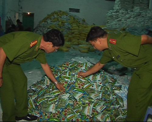 Cơ quan chức năng Đồng Nai phát hiện một cơ sở sản xuất, kinh doanh phân bón giả