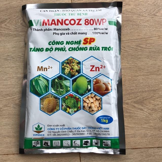 Một sản phẩm thuốc BVTV Vimancoz 80WP trên thị trường Đồng Nai