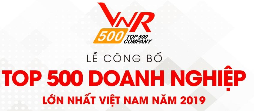 Tập đoàn Vinacam tiếp tục nằm trong TOP 500 Doanh nghiệp lớn nhất Việt Nam
