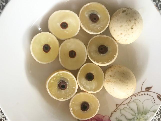 Bến Tre: Cây nhãn tiêu đầu dòng cho trái cực thơm ngon