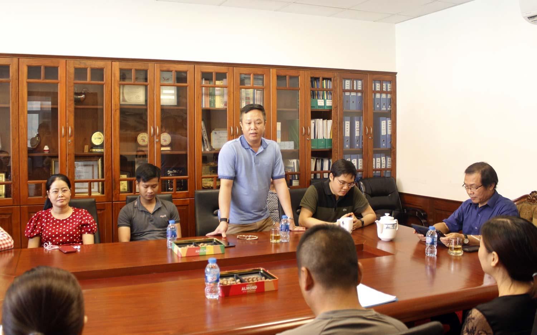 Ông Trịnh Thanh Dũng - Giám đốc kinh doanh Tập đoàn Vinacam