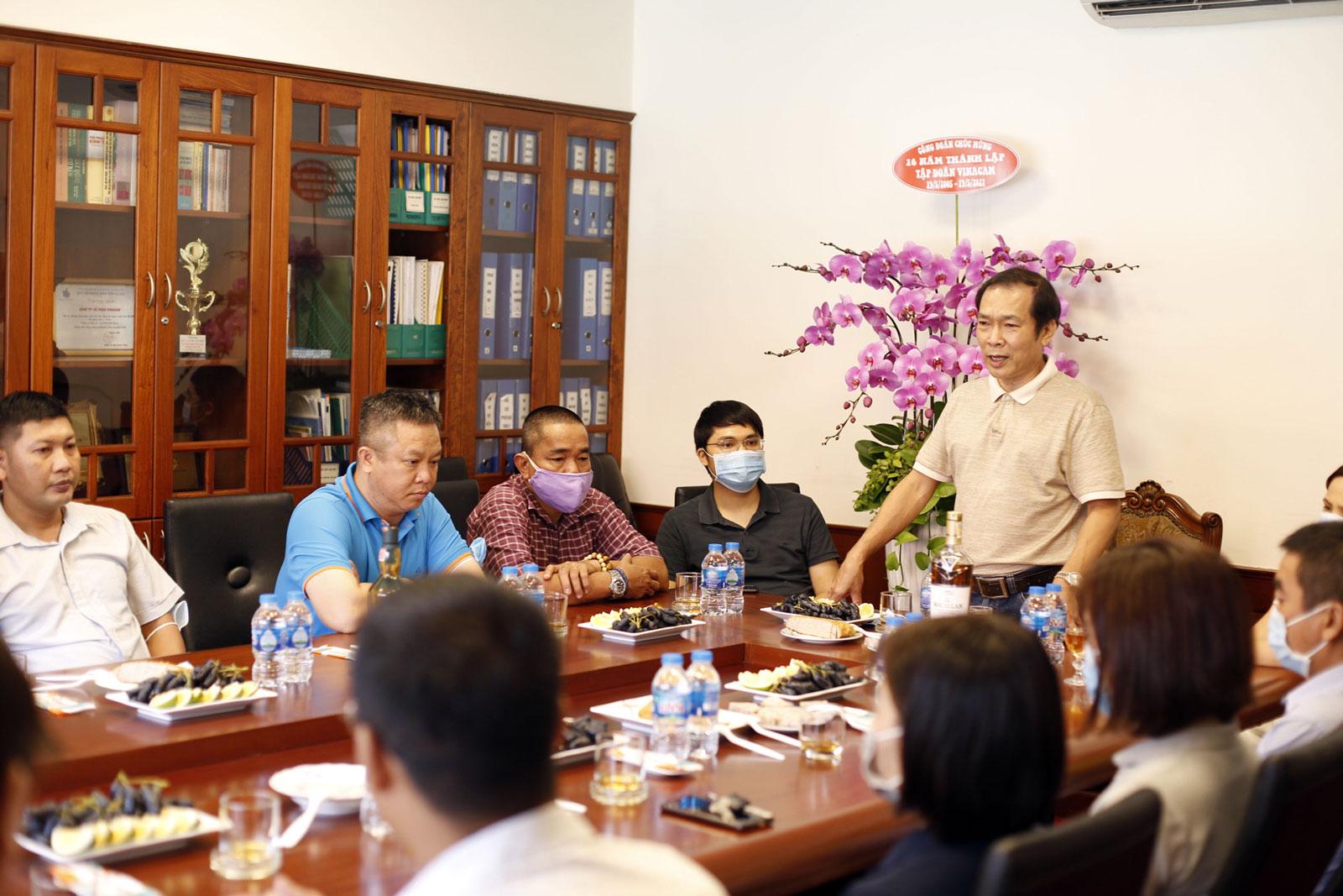 Ông Vũ Duy Hải - Chủ tịch HĐQT kiêm Tổng giám đốc Vinacam
