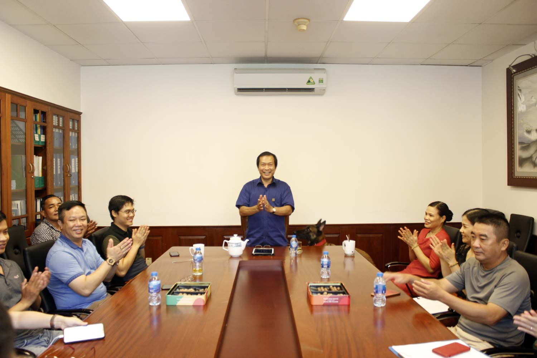 Ông Vũ Duy Hải - Chủ tịch HĐQT kiêm Tổng giám đốc Tập đoàn Vinacam